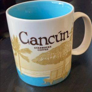Super rare Starbucks Cancun Mug